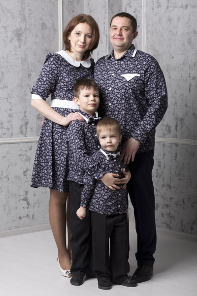 Комплект Family Look #3в