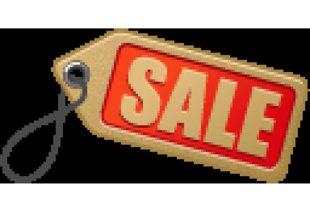 Распродажа в апреле