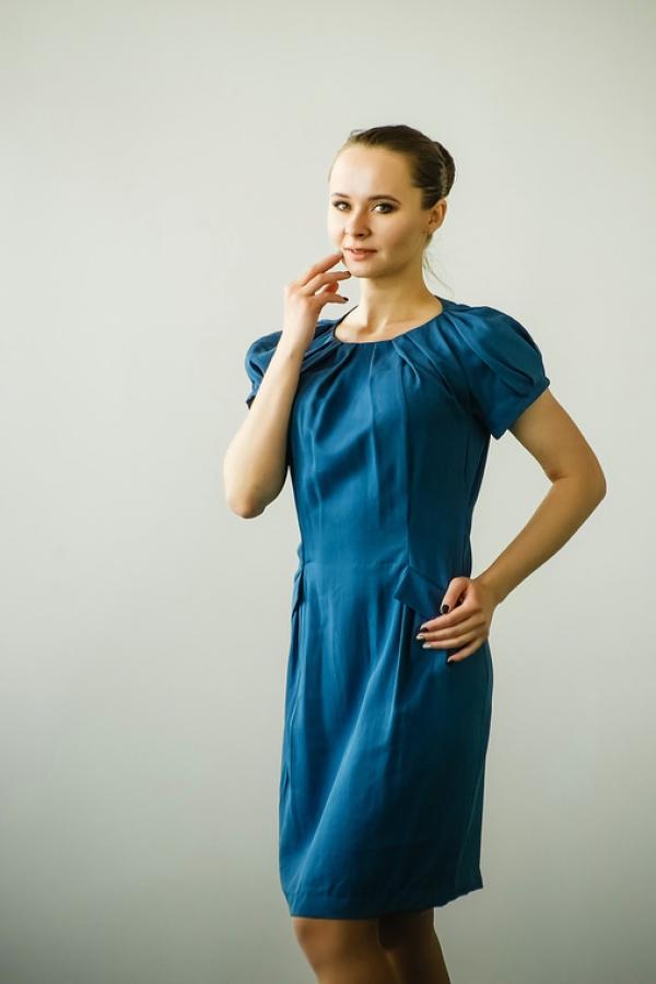 Платье п244
