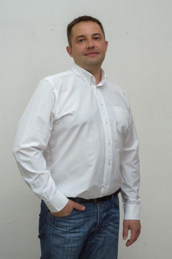 Классическая мужская рубашка. Цвет: белый. Размеры 40-64. Ткань: хлопок