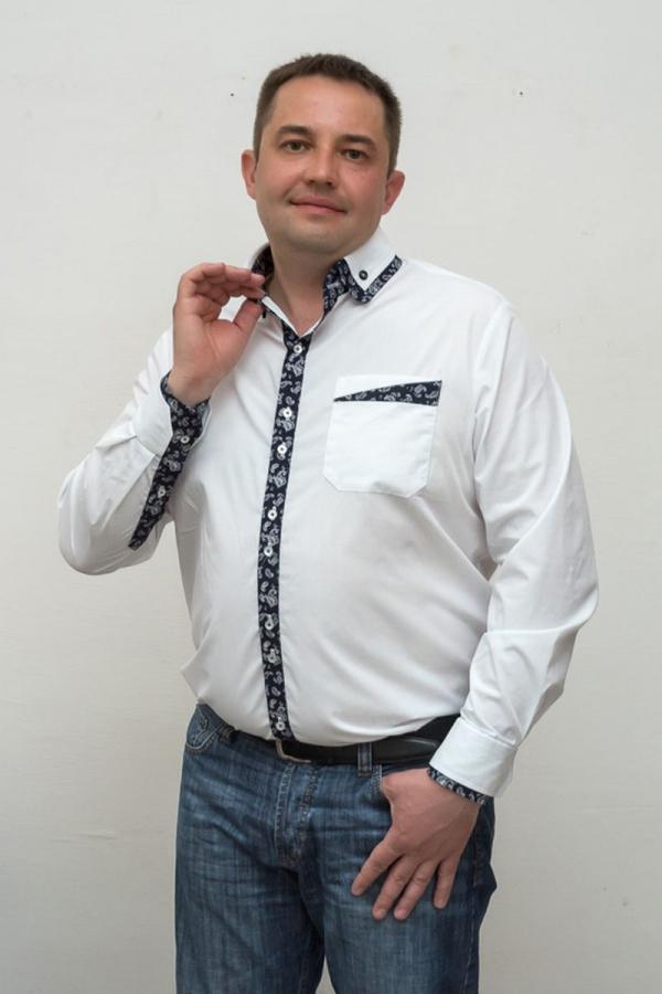 Классическая мужская рубашка. Цвет: мультиколор. Размеры 40-64. Ткань: хлопок